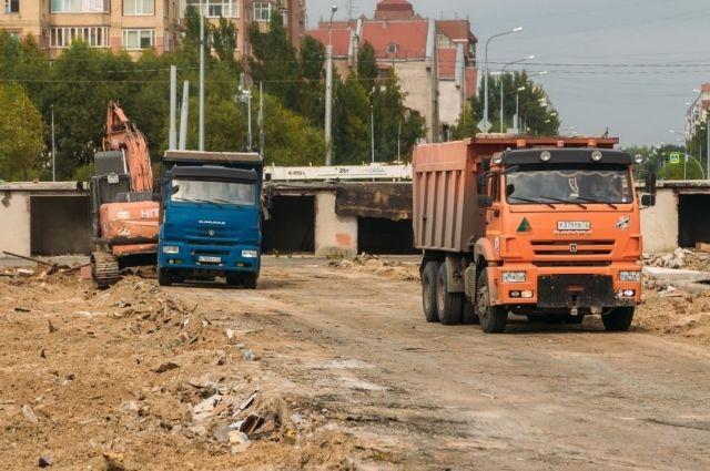 В Тюмени вместо гаражей по улице Николая Федорова появится дорога
