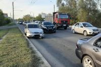 В Оренбурге в тройном ДТП пострадала 5-летняя девочка