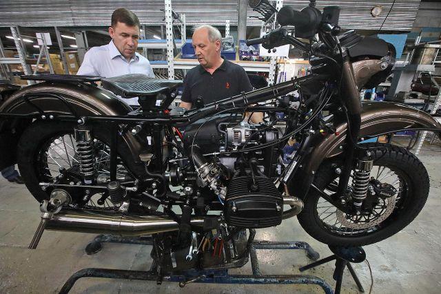 Легендарные мотоциклы «Урал» популярны во всем мире.