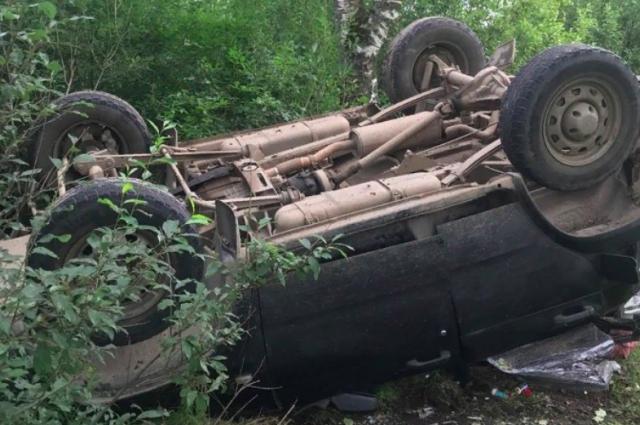 В Новосибирской области произошло столкновение трех автомобилей