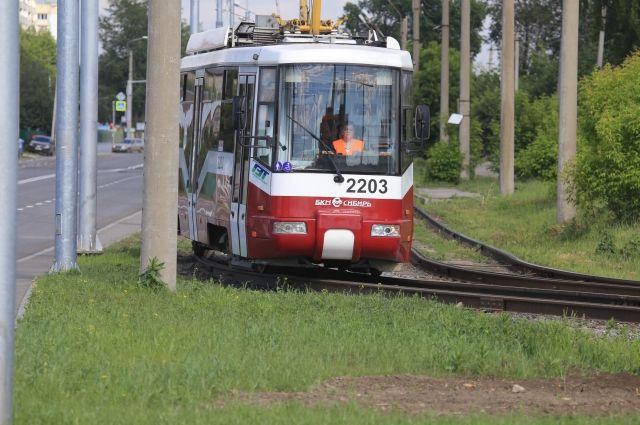 В Новосибирске изменили маршрут двух трамваев