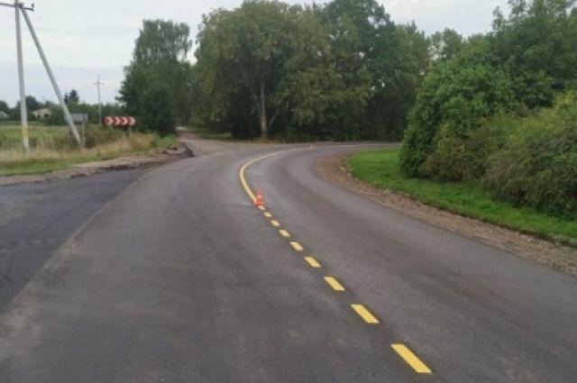 На дорогах области появится экспериментальная разметка