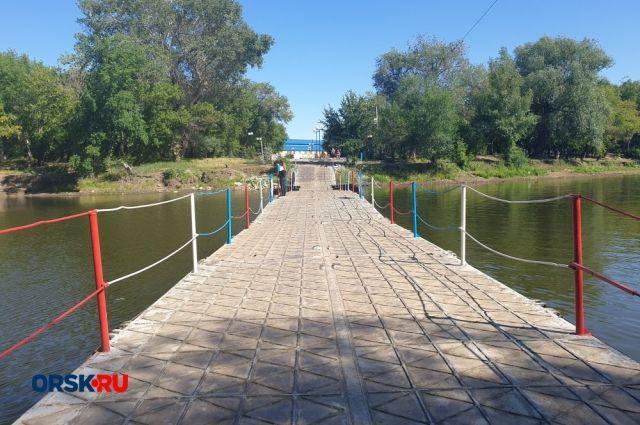 В Орске в парке Строителей могут построить мини-версию Керченского моста