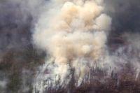 Лесные пожары в Иркутской области.
