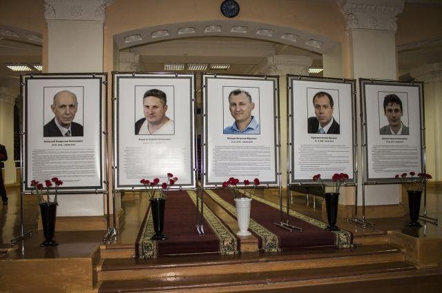 В Сарове прошла церемония прощания с погибшими испытателями