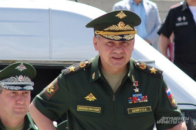 Сергей Шойгу принял участие в начале строительства Нахимовского училища