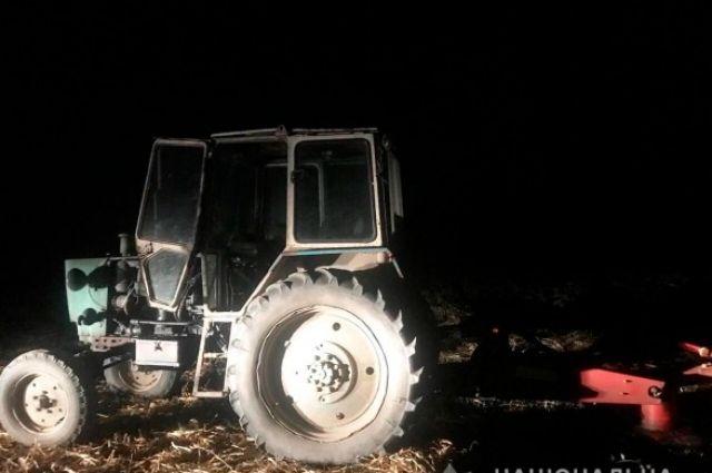 В Черновицкой области пьяный тракторист наехал на пятилетнего ребенка