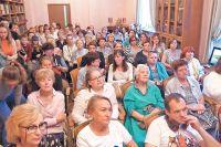 21 августа на краеведческой лекции в районе был настоящий аншлаг.