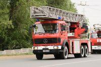 В Оренбурге потушен пожар в многоэтажном доме на ул. Пролетарской