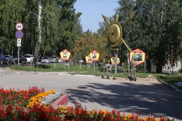 В поселке Гвардейский обустроят три остановочных павильона.