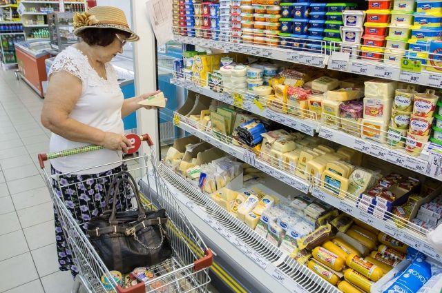 В соседних регионах продукты немного дешевле.