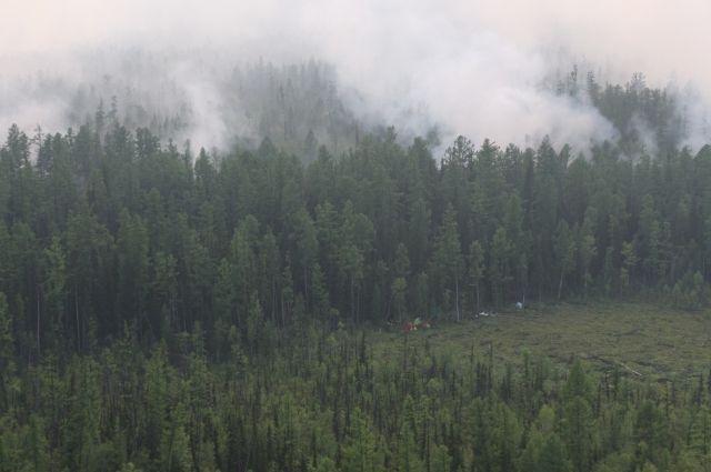 Основные пожары действуют в труднодоступной зоне, угрозы населенным пунктам нет
