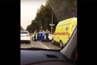 На улице Мельникайте в ДТП пострадали пять человек