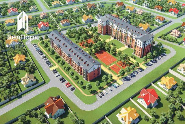Зелёная территория и качественное жильё.