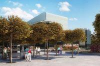 По одному из проектов часть Театральной площади может превратиться в парковую зону.