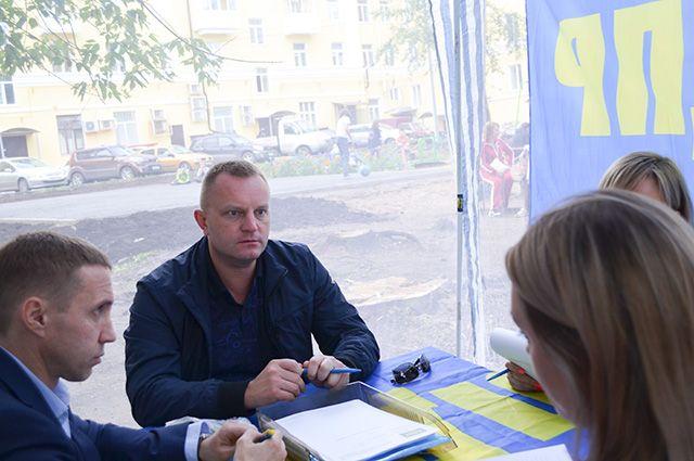 Мобильный приём граждан в уфимской Черниковке.