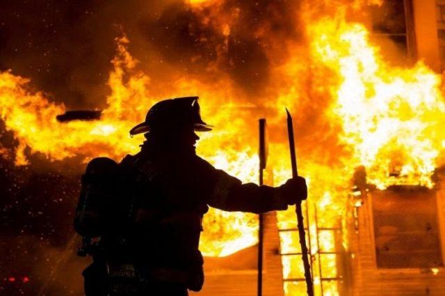 В Мариуполе произошел пожар, в котором пострадали дети