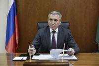 В Тюмени проходит пресс-конференция губернатора Александра Моора