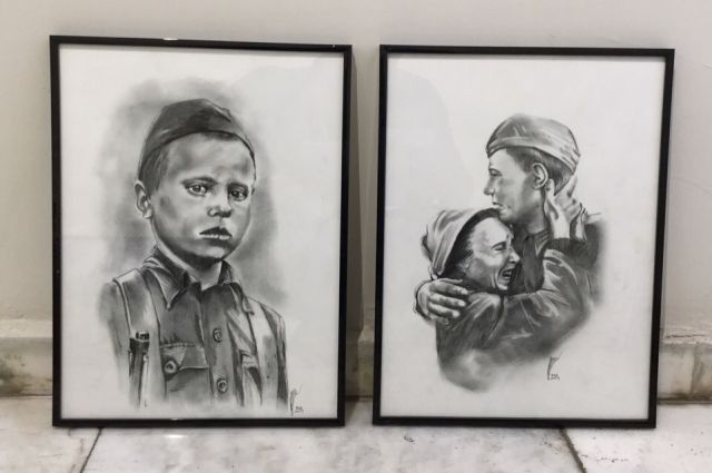 Красноярские художники принимают участие в проекте «Салют Победы»