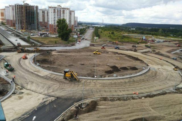 Работы проводятся в рамках нацпроекта «Безопасные и качественные автомобильные дороги».