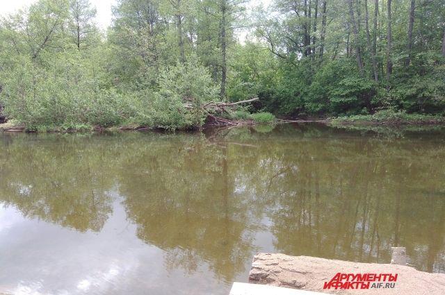 Труп обнаружили примерно в 200 метрах ниже по течению. Поиски тела второго ребёнка продолжаются.