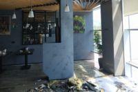 В ресторане на втором этаже ТРЦ «Гудвин» загорелась вытяжка