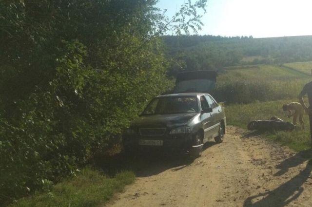 В Одесской области столкнулся мопед и автомобиль: есть пострадавшие