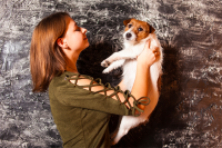 Яна Ярославская начинает заниматься с собаками с трёх месяцев