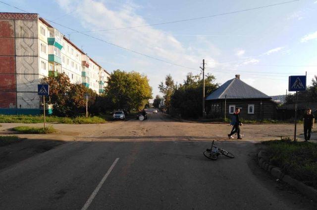 В Сарапуле автомобилист сбил ребёнка и скрылся