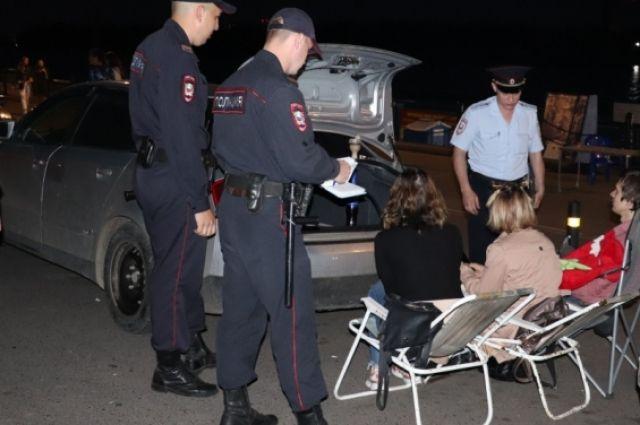 Проведение рейдов полиции на территории набережной будет продолжаться