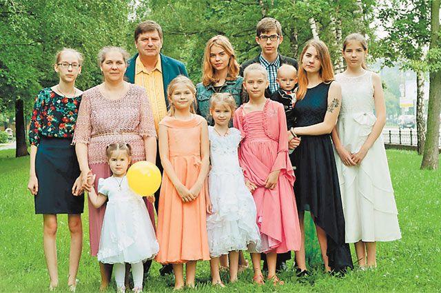 Сейчас вместе сЛюбовью иИгорем Илларионовыми врайоне Митино живут девять детей.