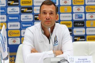 Шевченко рассказал о составе сборной Украины на матчи с Литвой и Нигерией