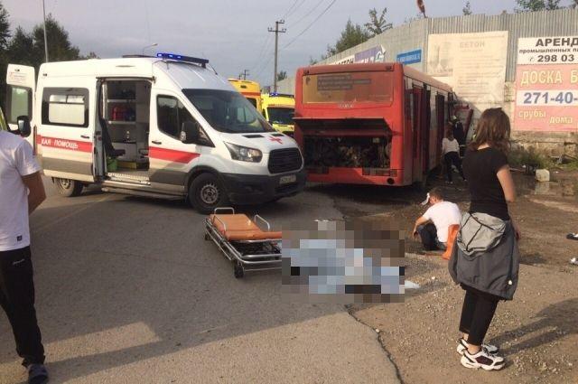 Девушка-пассажир погибла.