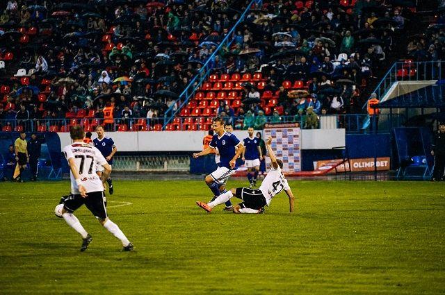 Футболисты провели не простой матч.