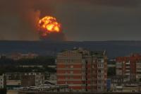 Жители Ачинского района пережили несколько серий взрывов.