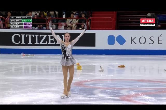 Алина Загитова поборется за звание «Спортсменки года»