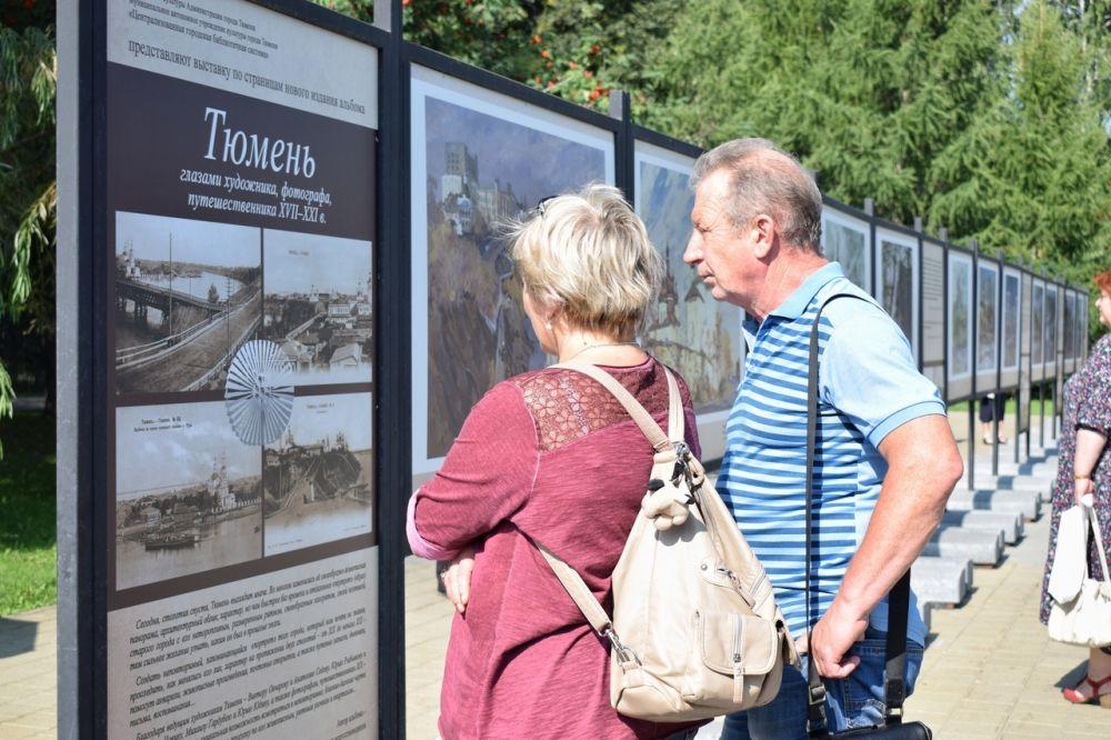 Новая выставка под открытым небом украсила Текутьевский бульвар.