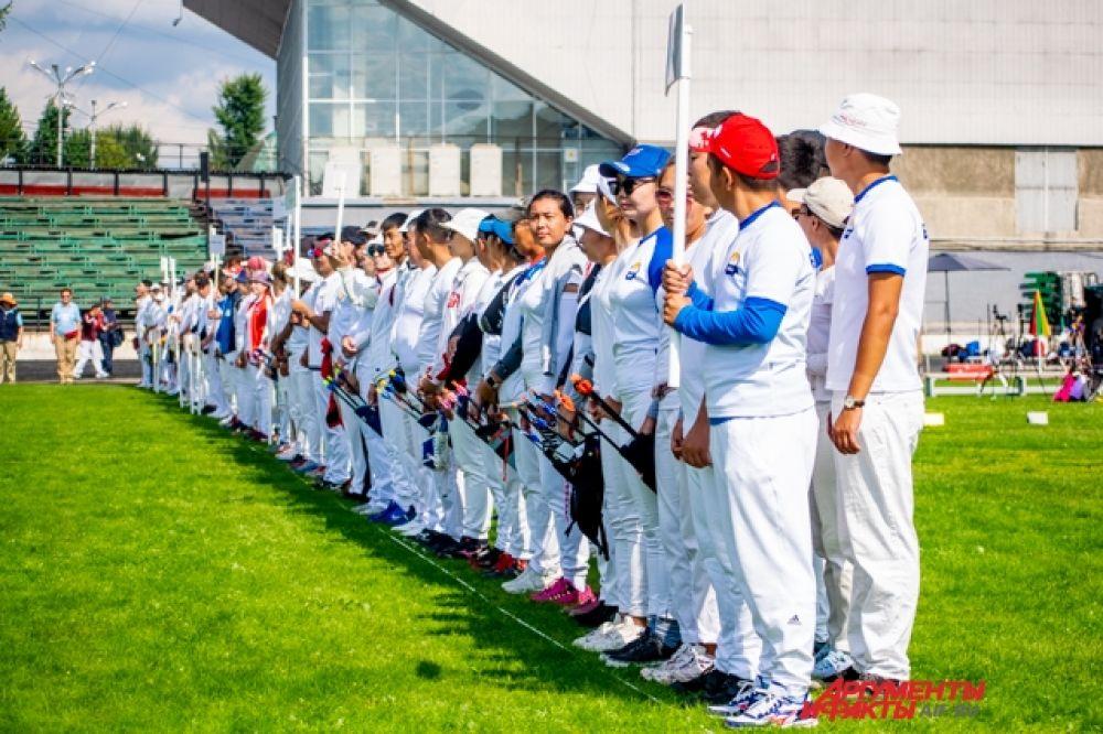 Чемпионат России по стрельбе из лука прошёл с 14 по 18 августа на стадионе дворца спорта «Труд» в Иркутске.