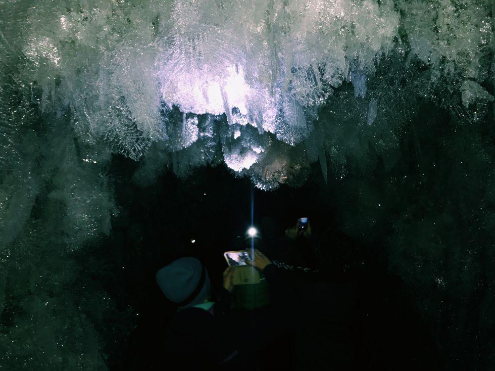 Пещера снежинок рудника Додо