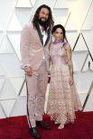 Актер Джейсон Момоа (193 см) и его супруга Лиза Боне (157 см).