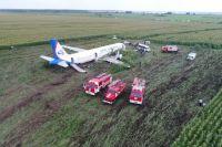 Кукурузное поле позволило посадить самолёт «на брюхо» без взрыва.