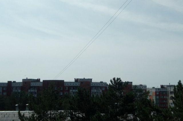 Циклон, который пришел в Новосибирск, помог городу избавиться от дыма, смога и пыли.