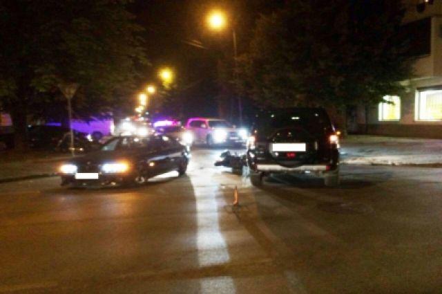 В Калининграде в ДТП пострадала 69-летняя пассажирка мотоцикла