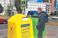 На Юровской улице уже установлены контейнеры дляраздельного сбора мусора.