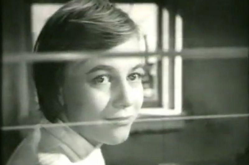 Александра Назарова в фильме «Путешествие в апрель» (1962)
