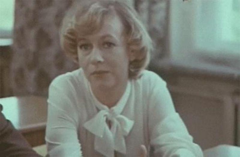Александра Назарова в фильме «Мелодия на два голоса» (1980)