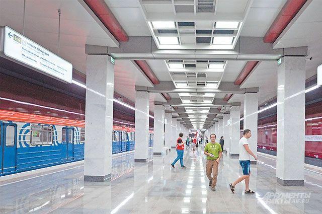 Новую станцию строят по уникальной технологии