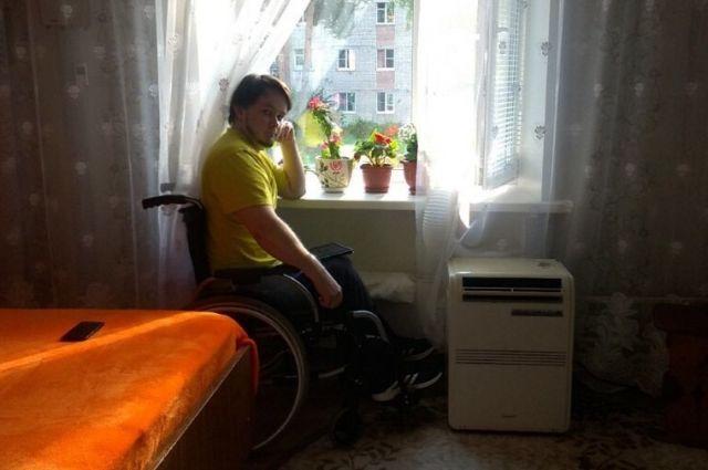 Квартира Евгения не подходит для инвалида-колясочника.