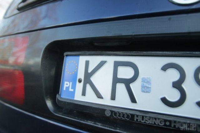 В Украине заработали новые штрафы для владельцев «евроблях»