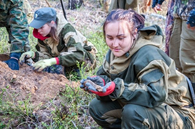Недалеко от села Долгодеревенское нашли оружие и остатки амуниции, которые могли использовать как Красная армия, так и войска Колчака.